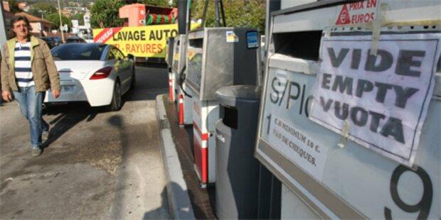 Frankreich geht wegen Streik der Sprit aus