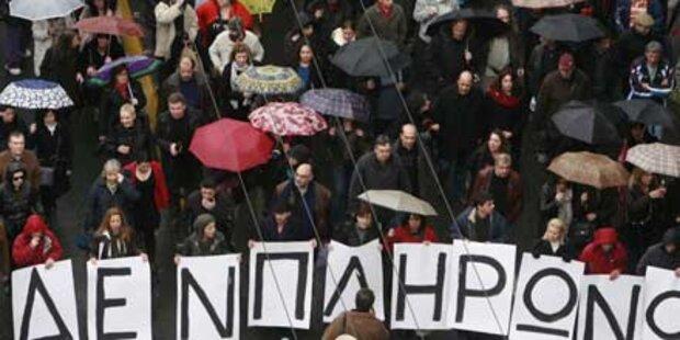 Gewerkschaftsstreik lähmt Griechenland