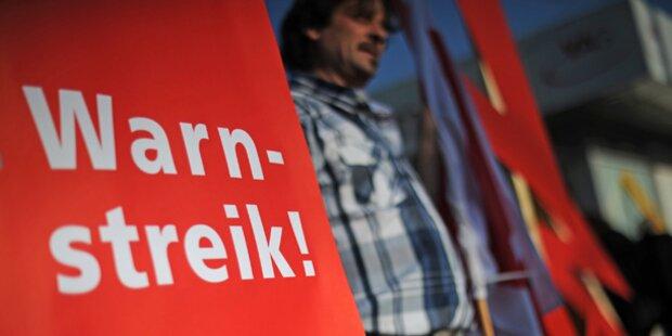 Streik: Sämtliche Wien-Berlin-Flüge gestrichen
