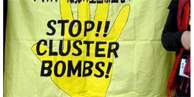 Verbot von Streubomben beschlossen