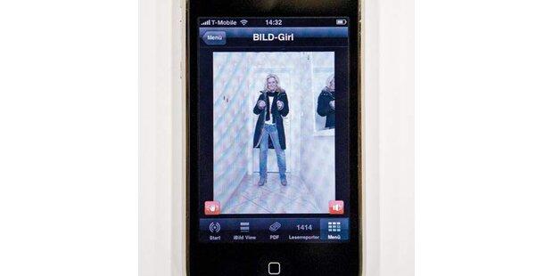 Schüttel-Striptease am iPhone