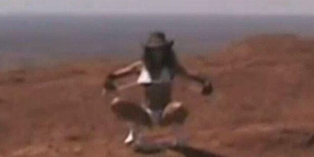 Stripperin vom Ayers Rock erregt Gemüter