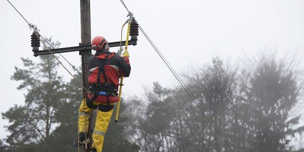 Über 2000 Steirer haben keinen Strom