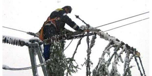 4.000 steirische Haushalte ohne Strom