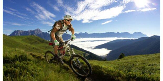 Mit Mountainbikes durchs SalzburgerLand