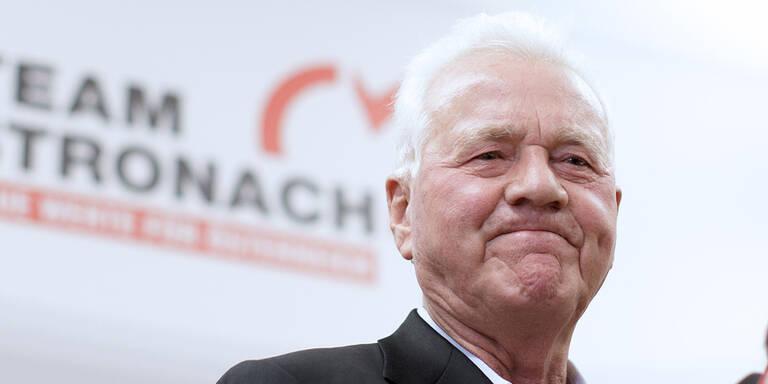 Stronach spendete der SPÖ 10.000 Euro