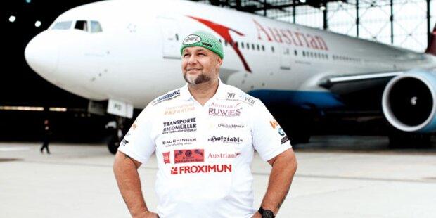 Salzburger Strongman zieht eine Boeing