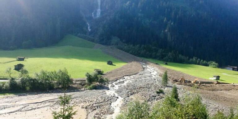 Schweres Unwetter im Tiroler Stubaital