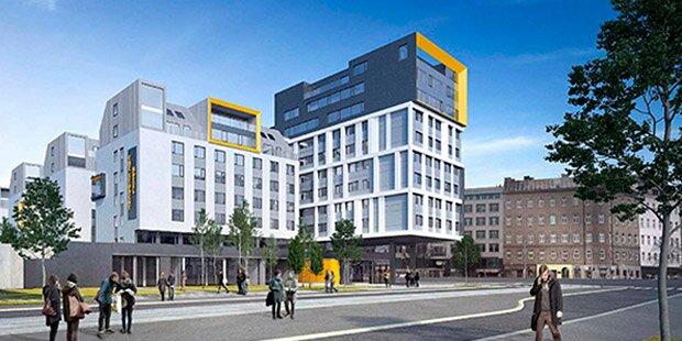 Student Hotel in Wien wird bis 2020 fertig