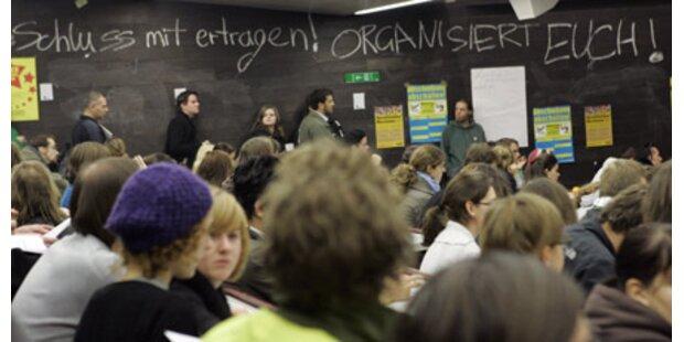 Uni Lehrer Unterstützen Protest