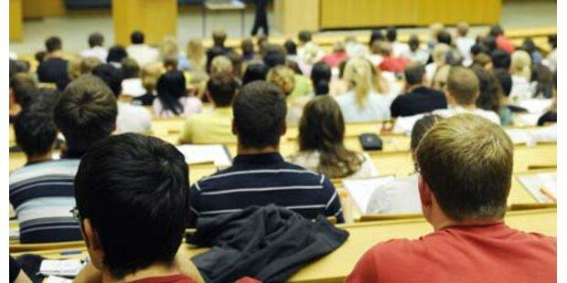 Rektoren machen weiter Druck