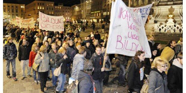 500 in Linz auf der Straße