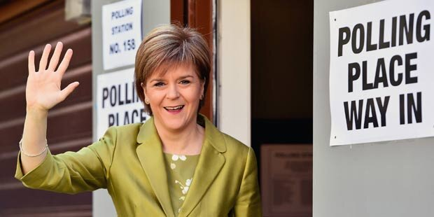 Sturgeon: Vereinigtes Königreich