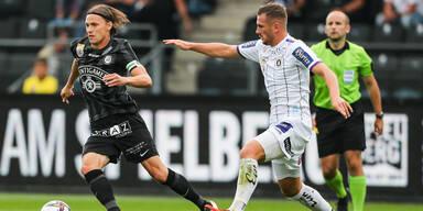 2:1 - Sturm zittert sich zum Sieg über Klagenfurt