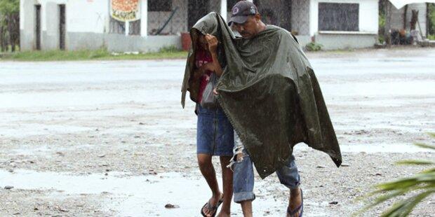 Tropensturm fegte über Mexiko