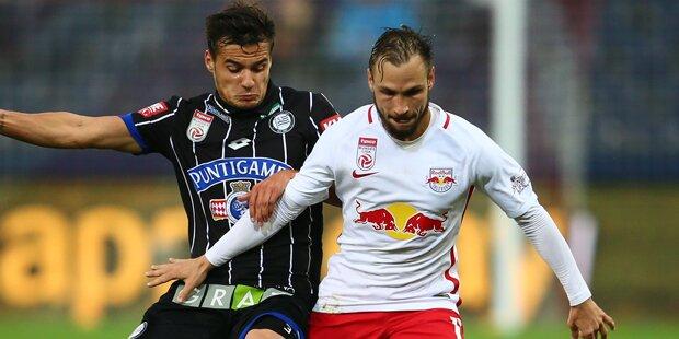 Red Bull Salzburg besiegt Sturm Graz mit 1:0