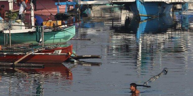 Zwei Tote bei Taifun auf den Philippinen