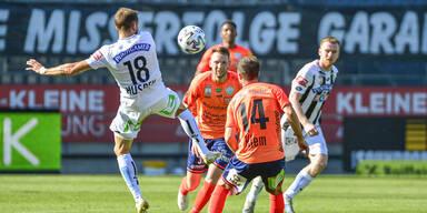 4:1 in Graz: Hartberg mit Kanter-Sieg im Steirer-Derby