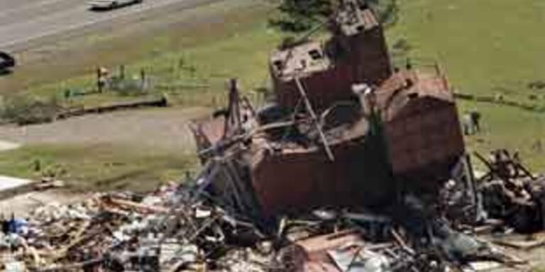 Tornados fegen über USA hinweg