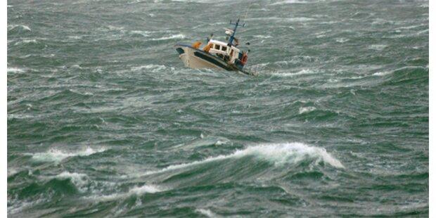 Sieben irische Fischer ertrunken
