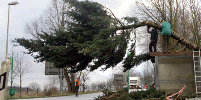 Sturm tobte über Österreich