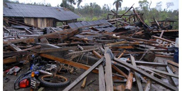16 Tote bei Sturm in Südamerika