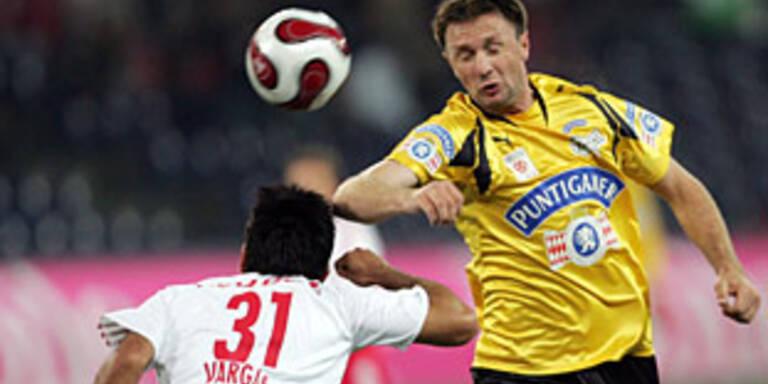 Graz nach 1:1 weiter Tabellenführer