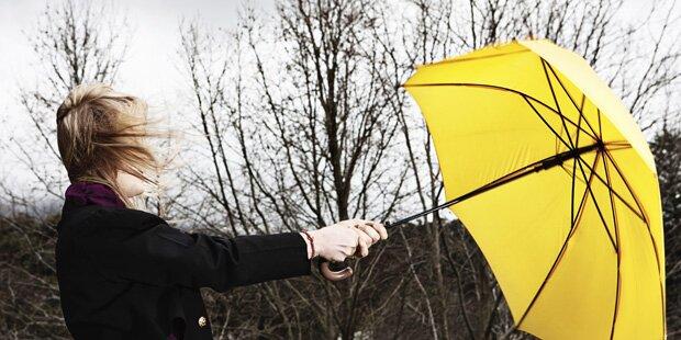 Sturm-Warnung für den Norden und den Osten