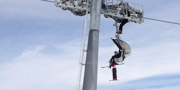 Horrorsturz: 6-Jährige fällt vom Skilift