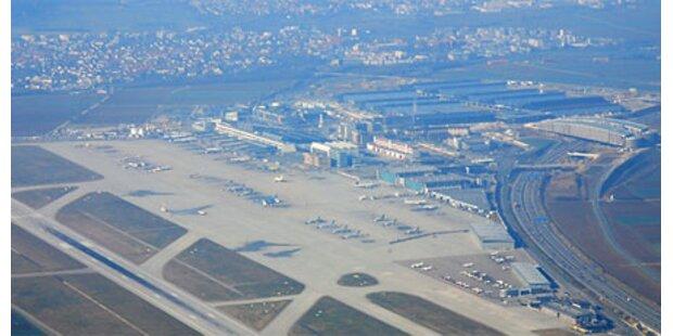 Boeing 737 in Stuttgart notgelandet