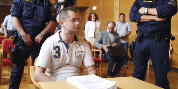 Mord an Stiefvater: 20 Jahre Haft