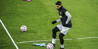 Schock für Atletico: Suarez verletzt out