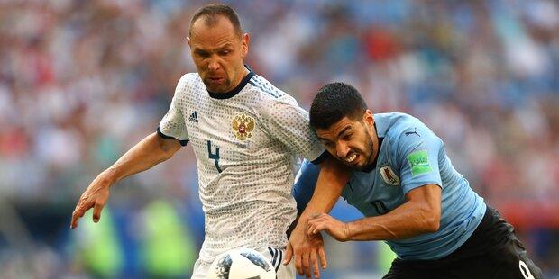 3:0 - Uruguay zerlegt Russen & holt Gruppensieg