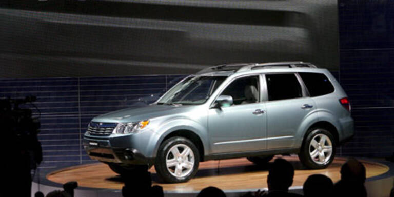 Subaru Forrester öffentlich vorgestellt