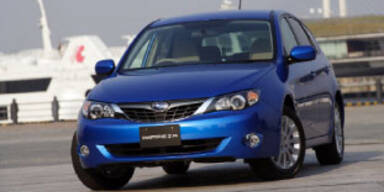 Subaru: Impreza und Tribeca neu