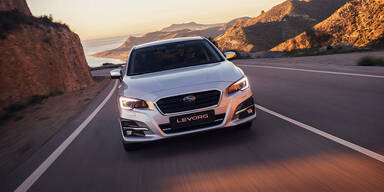 Facelift für den Subaru Levorg
