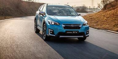 Subaru XV und Forester mit e-Boxer