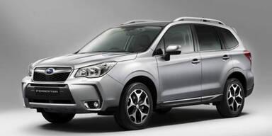 Subaru zeigt den neuen Forester (2013)
