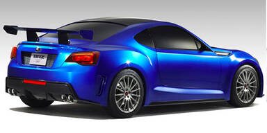 Erste Fotos vom Subaru BRZ Concept STi