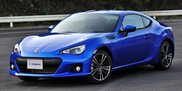 Weltpremiere des neuen Subaru BRZ