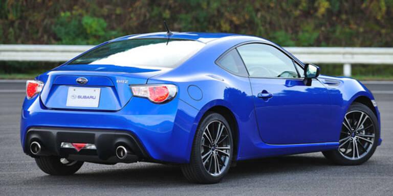 Subarus BRZ geht weg wie warme Semmeln