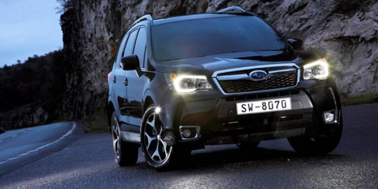 Start für den neuen Subaru Forester
