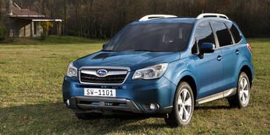 Subaru bringt den Forester Exclusive