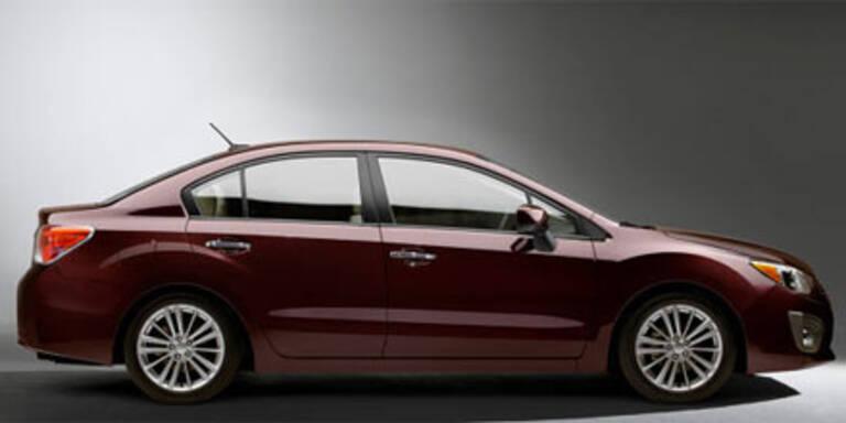Erstes Foto vom neuen Subaru Impreza