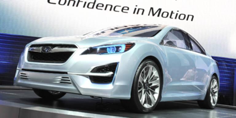 Subaru Impreza Concept in Los Angeles