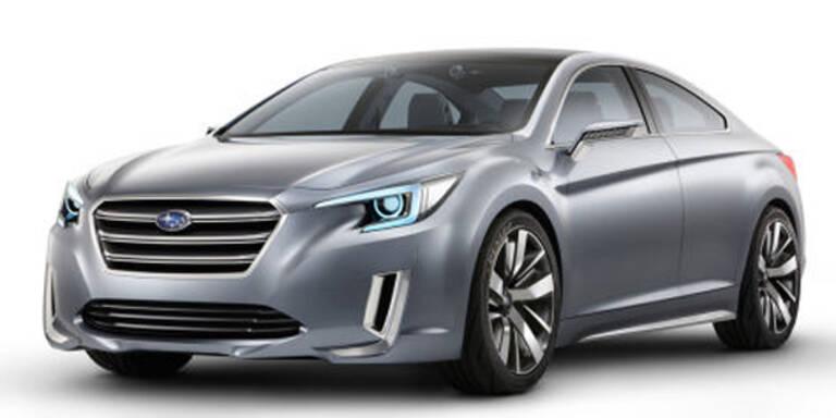 So schick wird der neue Subaru Legacy