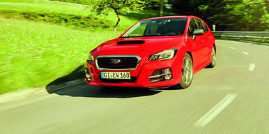 Subaru frischt den Levorg auf
