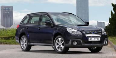 Subaru bringt neuen Outback 2,0D CVT