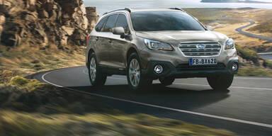 Subaru frischt Outback & Forester auf