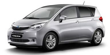 Subaru bringt den Kleinwagen Trezia